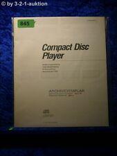 Sony Bedienungsanleitung CDP S7 CD Player (#0845)