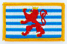 Flagge Luxemburg Flag Luxemburg iron-on Aufnäher patch