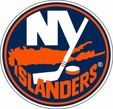 "New York Islanders NHL Hockey sticker wall decor large vinyl decal, 9.5""x 9.5"""