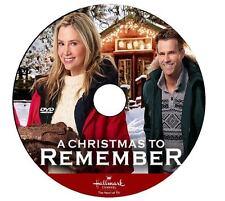 A CHRISTMAS TO REMEMBER 2016 DVD HALLMARK MOVIE No Case/Art-DiscOnly