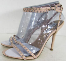 """100% Leather Very High (greater than 4.5\) Women's Heels"""""""
