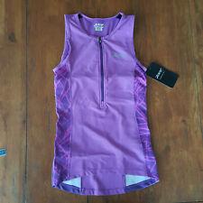 ZOOT Womens Small Performance Tri Tank Top Purple Haze Shirt Triathlon S