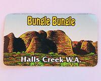Bungle Bungle Halls Creek Western Australia Souvenir Magnet Vintage (L37)