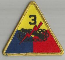 ARMEE division blindée 3 écusson / patch 9X9 cm