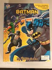 Batman: My Busy Book (12 figurines, storybook and playmat) Superheroes