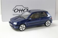 1:18 OTTO Renault Clio 16V Phase II blue 1995 NEW bei PREMIUM-MODELCARS