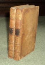 RARE 1770 2ND ED. LAURENCE STERNE: Sentimental Journey France & Italy GOLF ASSOC
