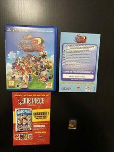 Jeu Playstation Vita PS Vita One Piece Unlimited World Red En Boite Pal Euro
