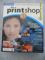 The Print Shop 21 Pro Publisher Deluxe By Broderbund 2168145