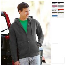 Fruit of the loom Herren Kapuzenjacke Sweatshirt Hooded Sweatjacke Premium 70/30
