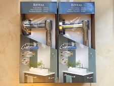 Lot of 2 - Gatco Reveal Chrome Wall Mount Single Post Toiler Paper Holder (4663)