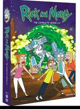 Rick and Morty, Complete Series Seasons 1-4 DVD AU
