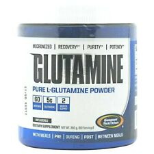Gaspari Nutrition Micronized GLUTAMINE 300g, 60 Servings MUSCLE GROWTH, RECOVERY