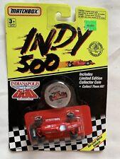 Vintage 1988 Matchbox Indy 500 Racer Target Scotch Die-Cast Red Car 1:55 SEALED