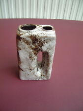 Ü-Keramik Lava Vase Design Übelacker art pottery Germany art pottery mid century