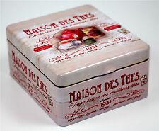 LUXURY MAISON DE THES TIN scatola di presentazione di 60 dei migliori Twinings tè
