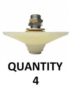 LOT of 4 NEW Dayton 24A967 Vibrating Bin Aerators, Aluminum, 29 To 87 PSI - Silo