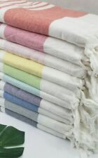 "Extra Large Beach Pool 100% Turkish Cotton Towel 37x75"" Beach,Spa towel 35x66"