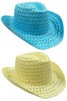 Easter Bonnet Boys GIrls Cowboy Style Hat To Decorate For Childrens Parades QR40