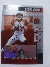 2006 Playoff Contenders Bennie Brazell Cincinnati Bengals LSU - Auto
