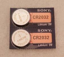 Pile Bouton Lithium CR2032 3V Sony X2