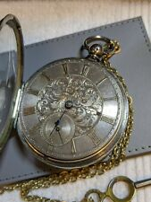 English Glasgow Fusee Pocket Watch