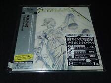 Metallica And Justice for All JAPAN LTD MINI LP SHM-CD SEALED