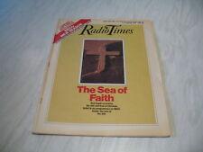 Radio Times magazine # 1984 September 8-14 BBC tv The Sea of Faith cover