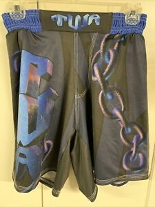 ADDIX Wrestling MMA Cage Fight Boxing Shorts adjustable waist Youth S Small New