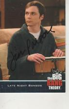 JIM PARSONS SIGNED 2013 CRYPTOZOIC BIG BANG THEORY #51 - SHELDON COOPER