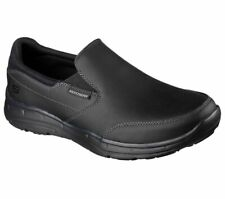 SKECHERS MENS RELAXED FIT® GLIDES CALCULOUS MEMORY FOAM CASUAL SLIP ON SHOES