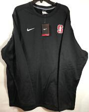 Nike Therma Fit Crewneck Sweatshirt 3XL Stanford Cardinal NEW 708952 010 Black