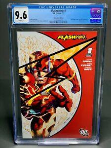 FLASHPOINT #1 SDCC VARIANT (DC 2011) NM CGC 9.6 1st Thomas Wayne Batman flash