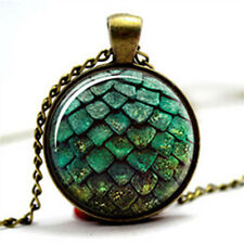 Dragon Egg Fantasy Myth Magic Pendant Necklace - Game of Thrones Daenerys