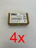 4 x NEW Dell 10GB 850nm FC SR 300m SFP+ Transceiver Module WTRD1 AFBR-709SMZ-FT1