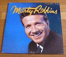 Marty Robbins 1958 original Columbia 6 Eye Mono LP Marty Robbins  cLEAn!