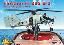 Flettner 282 B-0 4 Decal Luftwaffe w/ Photo Etched Parts 1:72 Plastic Model Kit