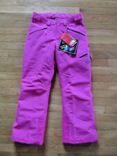 NORTH FACE GIRLS FRESH TRACK SKI PANTS, PETTICOAT PINK, EZ GROW, NWT $149, LARGE
