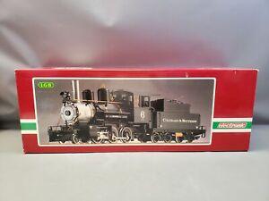 Vintage LGB Big Train 2019 S Colorado & Southern Steam Locomotive 6 & Tender