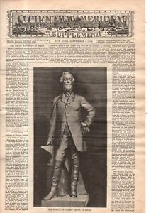 1889 Scientific American Supp September 7-Krupp Monument;Arizona Petrified Fores