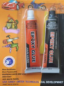 2pc METAL EPOXY GLUE FOR STEEL IRON BRONZE BRASS LIQUID METAL RESIN/HARDNER