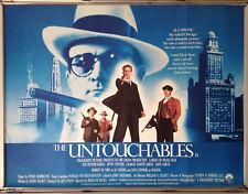 Cinema Poster: UNTOUCHABLES, THE 1987 (Quad) Robert De Niro Kevin Costner