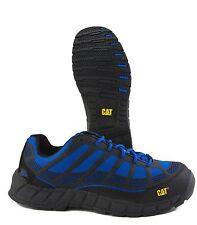 Caterpillar Streamline Composite Toe Black Blue Mesh Work Sneaker P90286