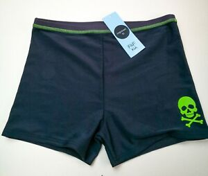 Beach - Swim Shorts - Trunks Black Size 13/14yrs Boys Brand New With Tags
