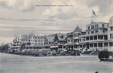 Postcard View of Second Avenue Asbury Park NJ New Jersey
