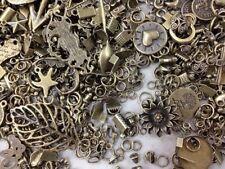 Conector encantos colgante vintage bronce Mezclado Accesorio en su mayoría piezas pequeñas 120g