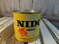 Vintage Nestle Nido leche can box canister advertising leche display only