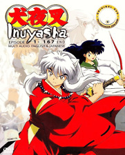 DVD ANIME INUYASHA Complete TV Series Vol.1-167 End ~ENGLISH VERSION~ + FREE DVD