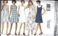 4497 UNCUT Butterick Sewing Pattern Misses Dress Jumpsuit Jumper OOP SEW Summer