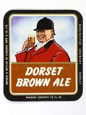 Unused 1950s-60s Eldridge Pope Dorset Brown Ale 9oz Tavern Trove Dorset England